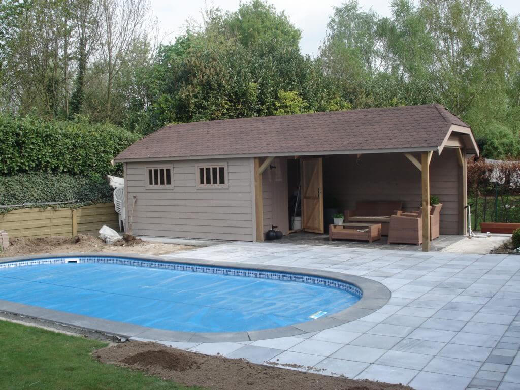 Christiaens | cottage tuinhuis met zwembad