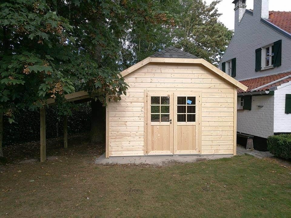 Christiaens   cottage tuinhuis