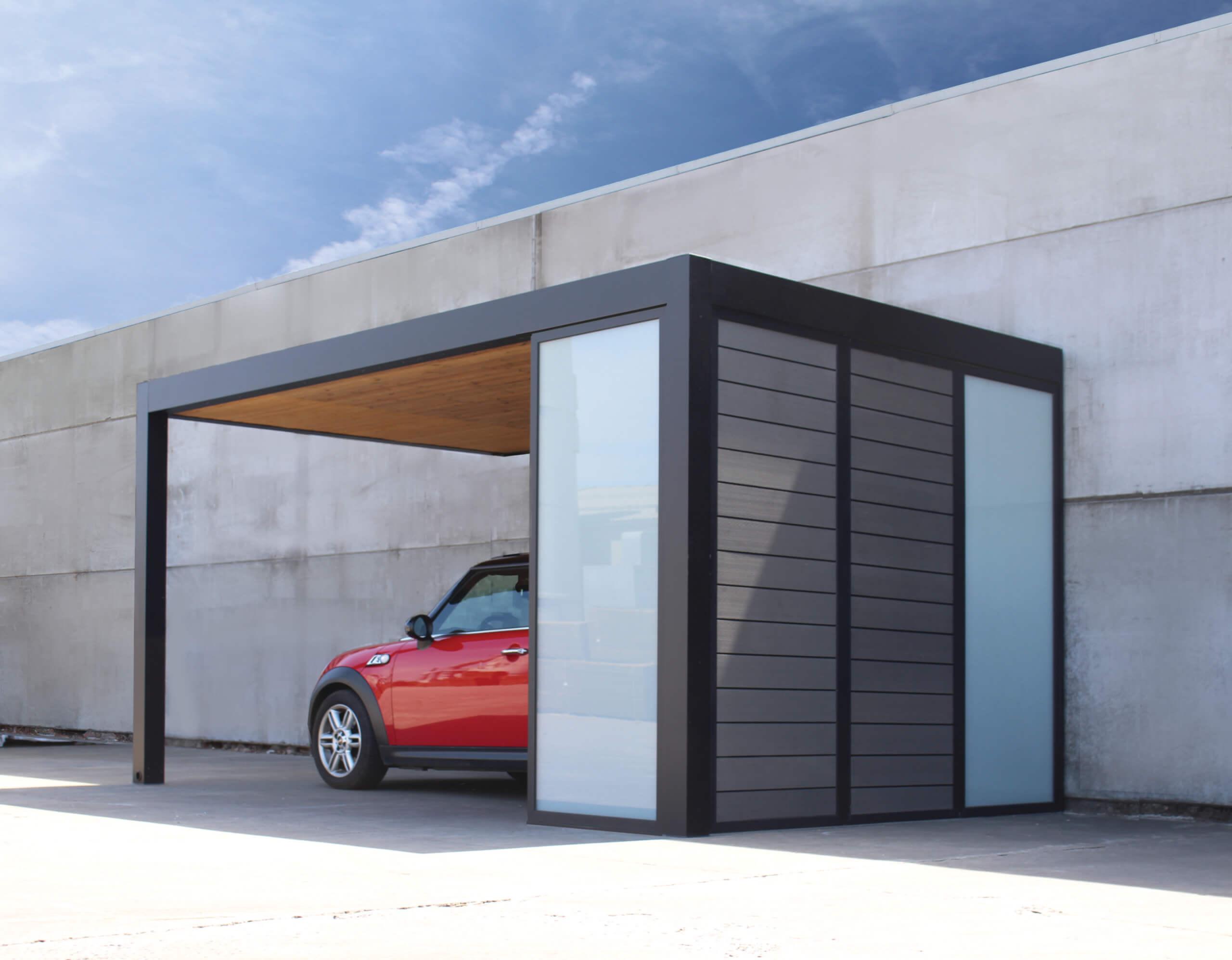Exterior Living | Alu carport wpc 4