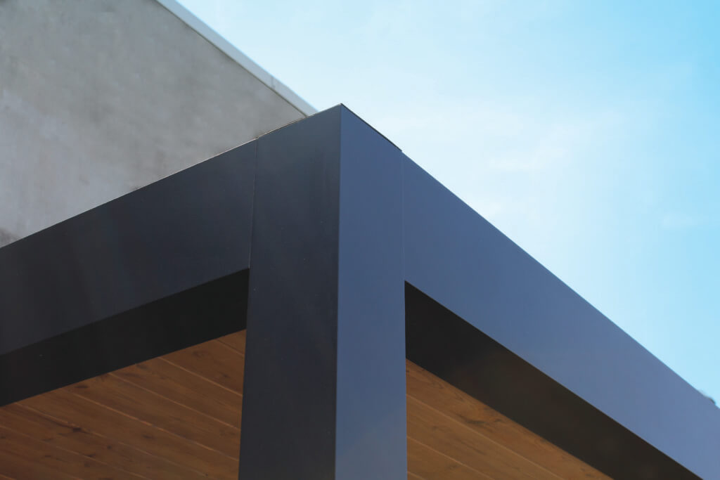 Exterior Living | Detail alu hoek 1