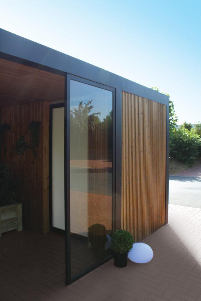 Exterior Living | detail glas paneel 2