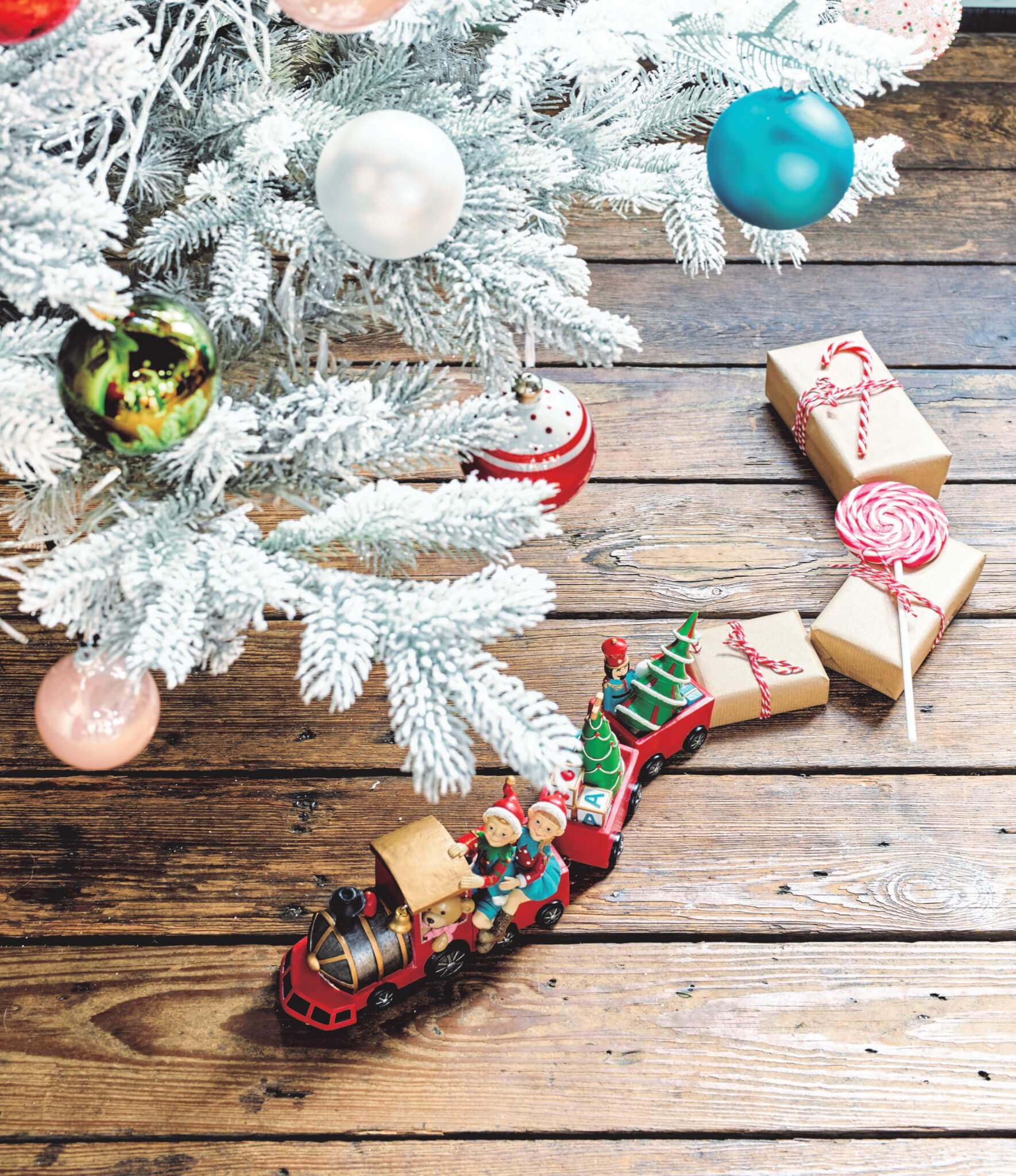 Kerstdecoratie   December to remember (2)